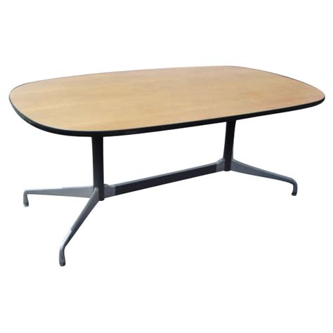 Eames Dining Table 5ft X 3ft Herman Miller Eames Racetrack Dining Table Ebay
