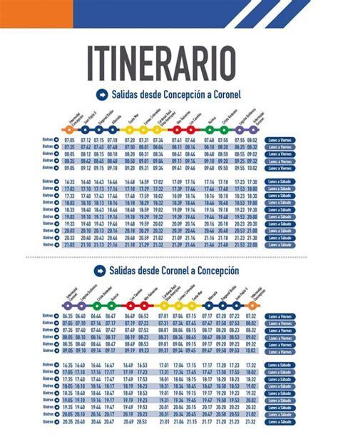 horario del servicio del metro 2016 conoce los horarios del nuevo servicio de biotr 233 n a