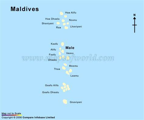 maldives carte  image satellite