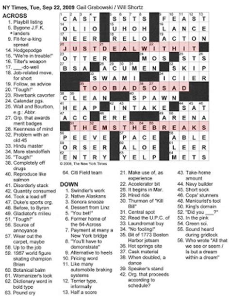 magazine layout crossword clue new york times magazine a crossword puzzle by bill auto