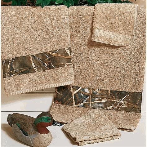 Camouflage Bathroom Set by Camo Bathroom Decor Realtree Max 4 Bath Towel Camo Trading