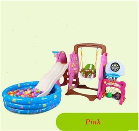 plastic swing sets for toddlers aliexpress com buy kids plastic slide swing set outdoor