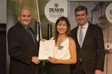 Deakin Mba Ranking by Deakin Business School Dean S Merit List 2015