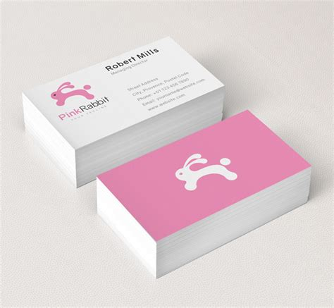 pink business card template clothing logo business card template the design