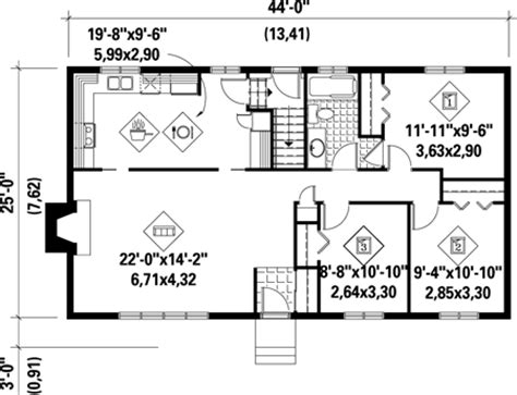 1100 Square Foot House Plans by 1100 Sqft House Modern 1100 Sq Ft House Plans 1100 Square