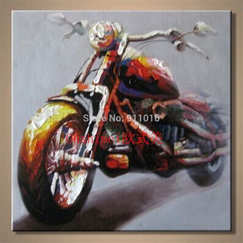 Paint By Numbers Wall Mural race car driver wall art motorcycle pictures handmade oil