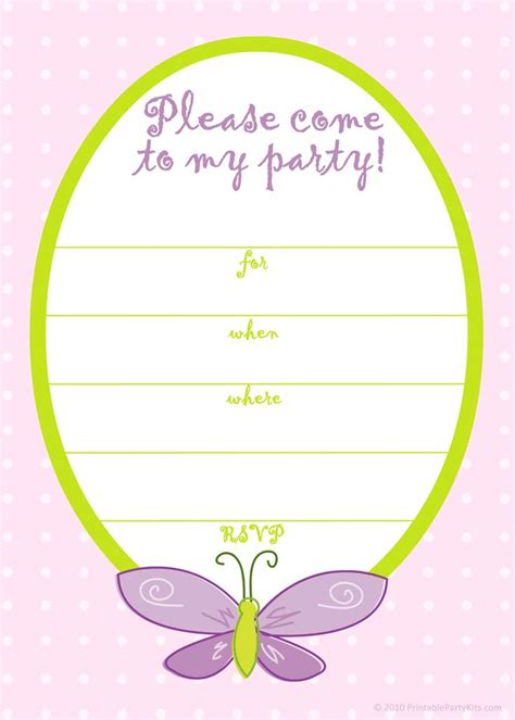 printable birthday cards invitation birthday invitations templates for girls free invitation