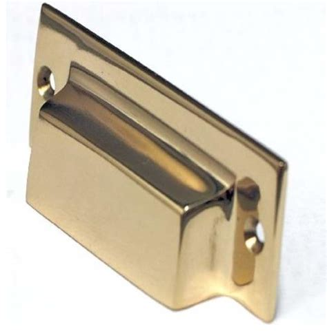 Bin Pulls Cabinet Hardware cal mission bin pull polished brass collection 3 inch cc transitional cabinet and