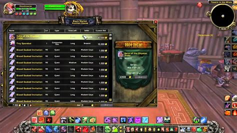 black market auction house how to wow using the black market auction house youtube