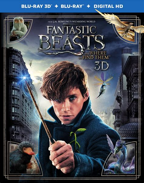 Where To Find Covers Fantastic Beasts And Where To Find Them Dvd Release Date