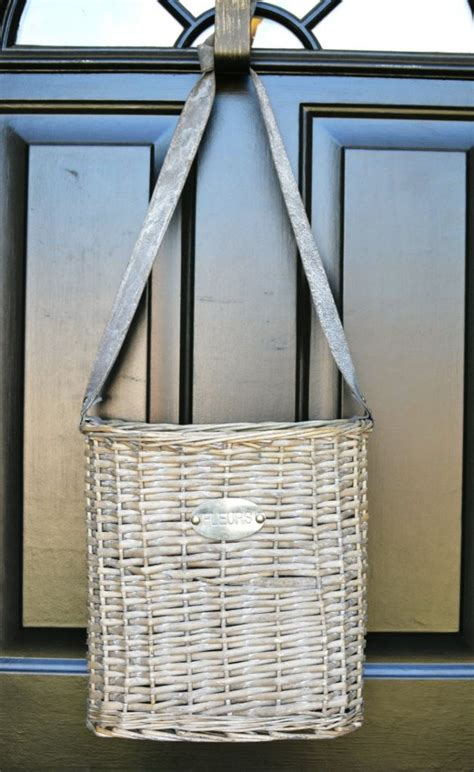 Fall Front Door Decorating At The Picket Fence Front Door Basket