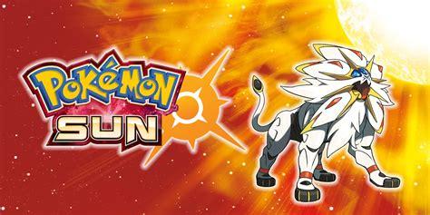 Nintendo Sun pok 233 mon sun nintendo 3ds jogos nintendo