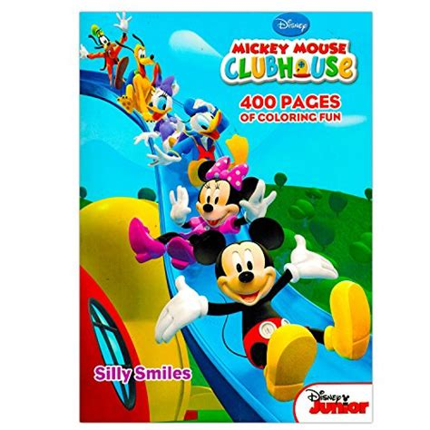 mickey mouse clubhouse giant coloring pages mickey mouse clubhouse gigantic coloring book 400 pages