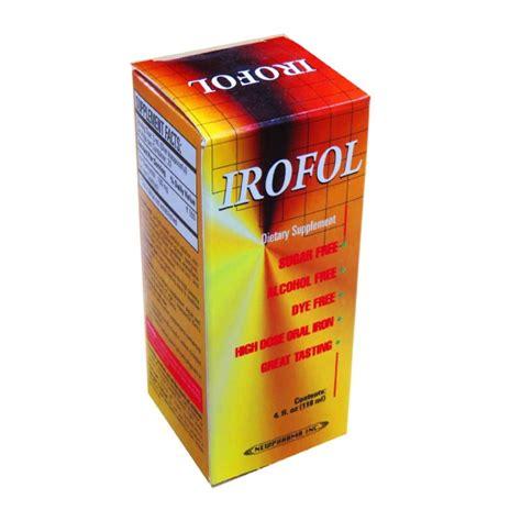 supplement with iron irofol iron supplement liquid