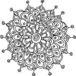 flower mandala coloring pages mandalas pattern of the day