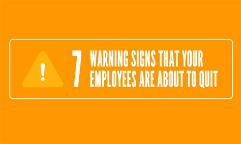 7 Signs That Its Time To Leave Your Boyfriend by 7 Warning Signs That Your Employees Are About To Quit