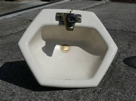 hexagon bathroom sink pin by jj on sink sank sunk pinterest