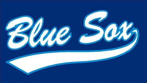 Tshirtpakaiankaos Olahraga Baseball Blue Sox Logo scorebook team blue sox