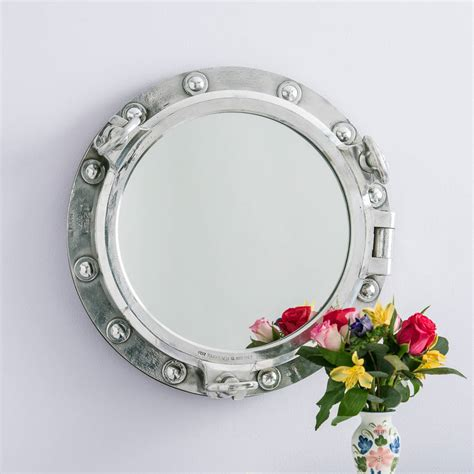 Handcrafted Mirrors - porthole mirror by crafted mirrors