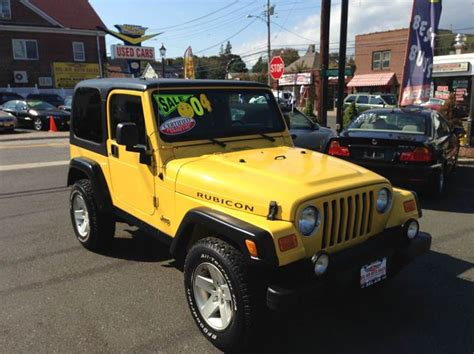 Jeeps For Sale In Ct 2004 Jeep Wrangler 2dr Rubicon 4wd Suv In Milford Ct Bel