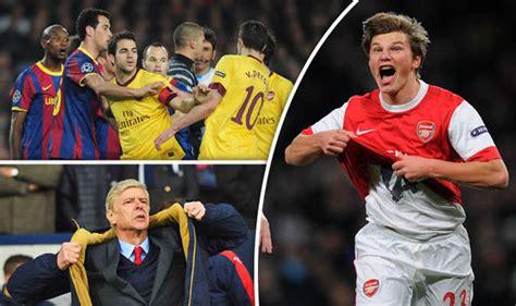 arsenal remembers arsene wenger arsenal still remember barcelona pain