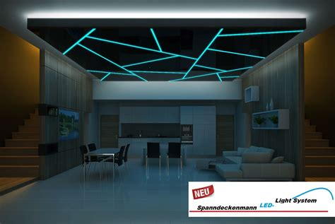 Decke Led by Led Light System Spanndeckenmann