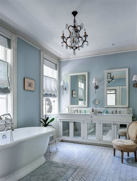 Grey And Blue Bathroom Ideas 37 Light Blue Bathroom Floor Tiles Ideas And Pictures