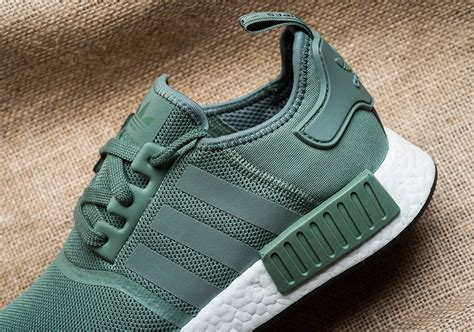adidas nmd r1 trace green release date by9692 sneakernews