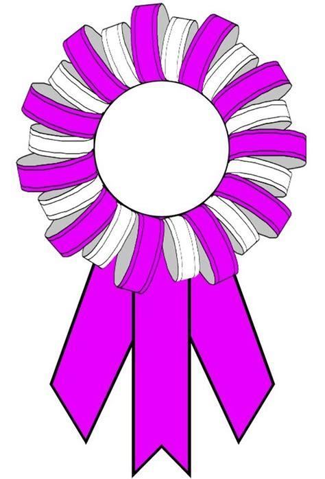 Ribbon Template award ribbons 123certificates of the crop