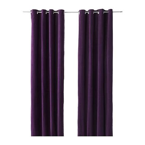 Sanela Curtains Inspiration Sanela Curtains 1 Pair Lilac 55x118 Redecorating Ideas Guest Bedrooms