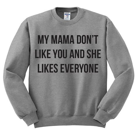Justin Bieber My Dont Like You crewneck sweater my don t like you and she likes