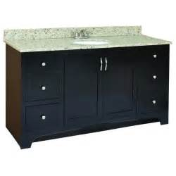 Design House Vanity Cabinets by Design House Ventura Espresso 4 Drawer Vanity Cabinet