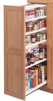 kitchen pull out larder cupboards kitchen design ideas