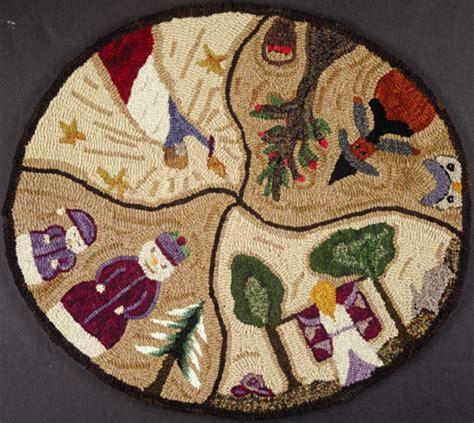 yankee peddler rug hooking exclusive pattern of the seasons rughookingmagazine
