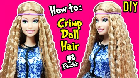 Doll Hairstyles Tutorial by How To Crimp Doll Hair Diy Hairstyles