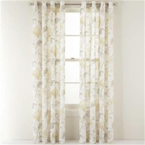 martha stewart grommet curtains martha stewart marthawindow faded floral grommet top sheer