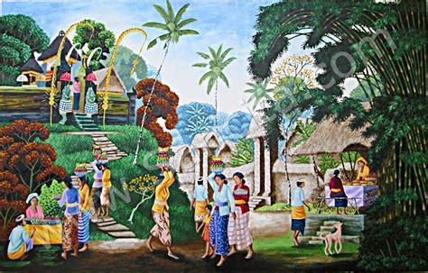 Lukisan Pemandangan Kung galeri lukisan bali danisa ep 11 lukisan kung bali