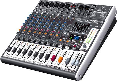 Mixer Audio Behringer Xenyx X1222usb xenyx x1222usb behringer xenyx x1222usb audiofanzine