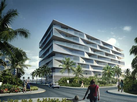 designboom resort bjarke ingels group envisions honeycomb resort in bahamas