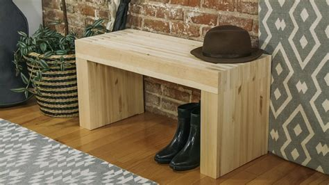 build  stylish wood bench danmade
