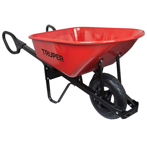 ace hardware wheelbarrow shop truper 6 cu ft steel wheelbarrow at lowesforpros com