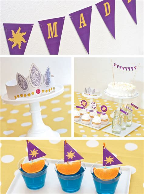 free printable rapunzel party decorations how to host a rapunzel party paging supermom