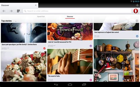 opera browser for android opera browser for android updated with lots of bug fixes