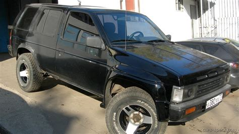 1990 nissan pathfinder mpg 1990 nissan pathfinder suv specifications pictures prices