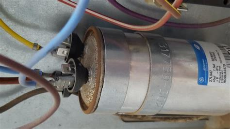capacitor for bryant ac unit bryant ac unit run capacitor and maybe contactor doityourself community forums