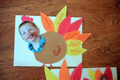 Paper Turkeys Kid Crafts - 5 easy turkey crafts for bless this mess