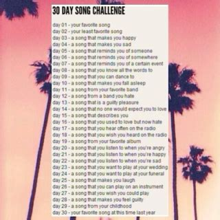 8tracks radio 30 day song challenge 25 songs free 8tracks online radio stream 3 playlists by solourflares
