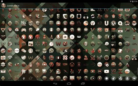 go launcher themes zombie kitkat zombie launcher theme v2 31 apk pro apk download
