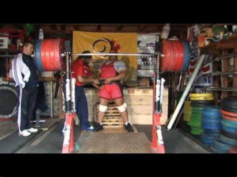 raw squats 3 reps at 627 lbs youtube