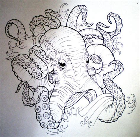 39 latest octopus tattoos designs